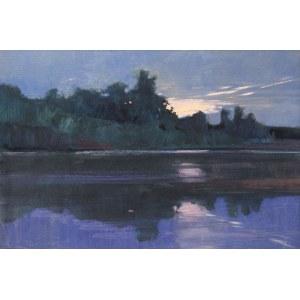 Jan Wołek (ur. 1954 r.), Pejzaż z rzeką
