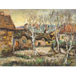 Katarzyna Librowicz (1912 Warszawa - 1991 Paryż), Wiosna na wsi
