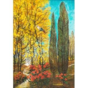 Krystyna Liberska (1926-2010), Pejzaż z jesienny