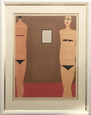 Jerzy Nowosielski, Kobiety z lustrem, 1997