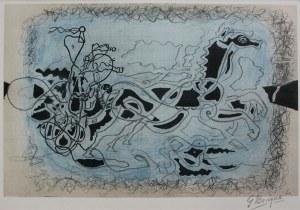 Georges Braque, Błękitny rydwan