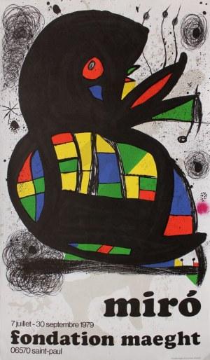 "Joan Miró, Plakat do wystawy ""Joan Miró"", Saint-Paul-de-Vence"