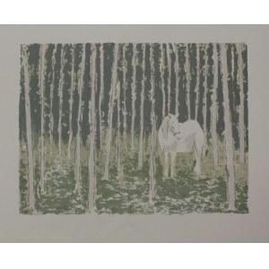 Bencion Rabinowicz [Benn], Biały koń