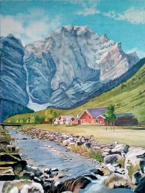 Bogumiła Ciosek (ur. 1938), Alpy 2020