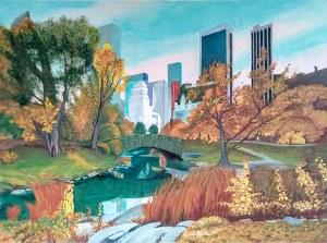 Bogumiła Ciosek (ur. 1938), Nowy Jork 2020