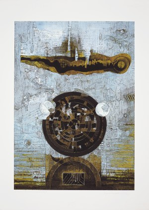 Eugeniusz Delekta (Ur.1946), Z cyklu: Znaki i symbole VI, 2015