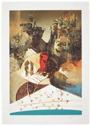 Eugeniusz Delekta (Ur.1946), Z cyklu: Przestrzenie dźwięków I, 2005