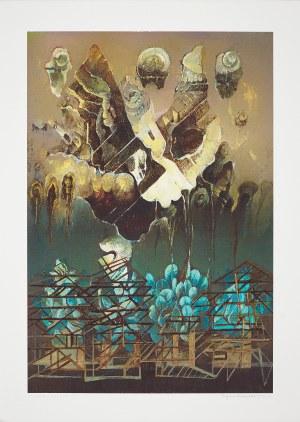 Eugeniusz Delekta (Ur.1946), Z cyklu: Ogrody III, 2000