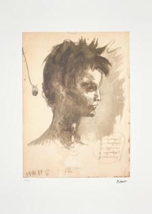 Pablo Picasso (1881-1973), Profil młodzieńca