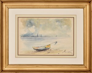 Marian Mokwa (1889-1987), Na brzegu