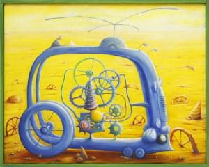 Zbigniew Olszewski, Blue cycle, 2020