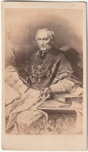 WARSZAWA. Zdjęcie arcybiskupa Antoniego Melchiora Fijałkowskiego (1778-1861) po objęciu przez niego ...