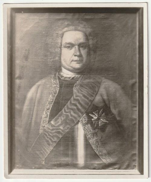 WEJHEROWO, OSTRÓW WLKP. Zestaw 4 fotografii portretowych, przedstawiających żyjących w XVIII w. Prze ...