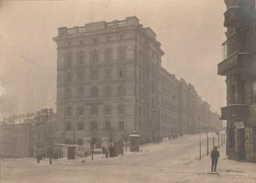 WILNO. Zdjęcie budynku opisanego ręką jego niemieckiego mieszkańca w 1915 r. jako należącego do Kole ...