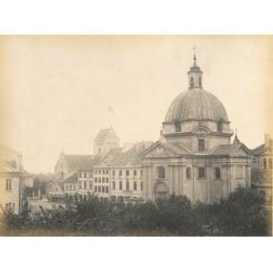 WARSZAWA. Kościół św. Kazimierza; anonim, niedatowany, lata siedemdziesiąte XIX w., wym. zdjęcia: 27 ...
