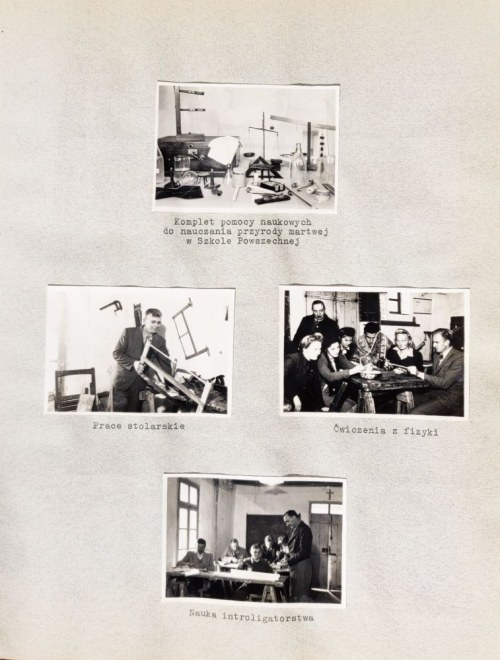 LIBAN. Album pamiątkowy szkolnictwa polskiego w Libanie 1945-1947, album 174 fot. z widokami z Li ...