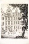 GDAŃSK. Zestaw 51 cz.-b. miedz. i akwf. autorstwa Johanna Carla Schultza; widoki pochodzą ze znanego ...
