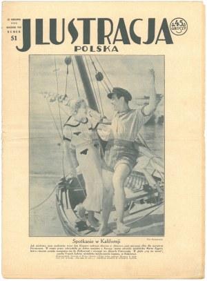 """Czasopismo """"Wielkopolska Ilustracja"""" – 4 numery: nr 7 / 17 XI 1929 z informacją o występie Kiepury w ..."""