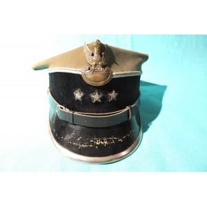 POLSKA. Rogatywka wz. 36 kapitana wojsk inżynieryjnych, oryginalny przedwojenny materiał, guziki i p ...