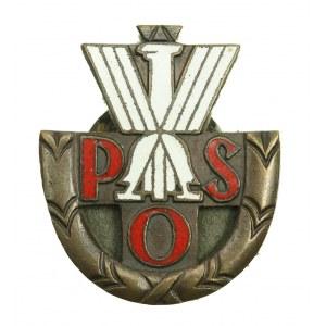 Państwowa Odznaka Sportowa klasy trzeciej stopnia trzeciego. Na nakrętce wykonany napis: wytworzył A ...