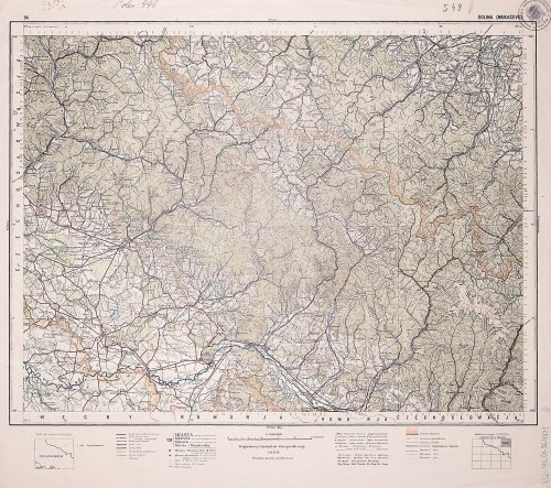 DOLINA (dziś w obwodzie Iwano-Frankowskim na Ukrainie). Wyd. 1929, wym.: 540x490 mm, podziałka 1:300 ...