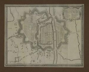 ELBLĄG. Plan miasta i obwarowań; ryt. Francois de Lapointe; passe-partout; wym.: 315x247 mm; Delinea ...