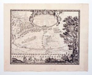 GNIEZNO. Bitwa pod miastem rozegrana 27 IV (7 V) 1656 r.; lekkie zabrudzenia marginesów; wym. płyty: ...