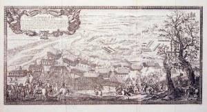 LITWA, SANDOMIERZ. Panorama działań wojennych prowadzonych pod Sandomierzem (koniec III i początek I ...
