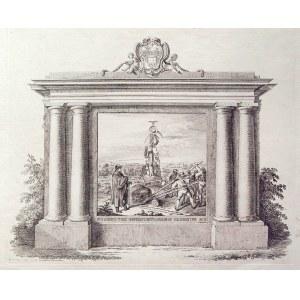 GDAŃSK. Alegoria zwycięstwa na cześć gdańskiego kupca Johanna Labesa (1754-1809); rys. znany gdański ...