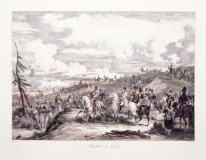 BORODINO. Scena z bitwy pod Borodino (we Francji znana jakoBataille de la Moskova– nad rzekąMoskw ...