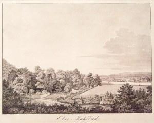 KOLBUDY GÓRNE. Panorama okolic miejscowości; rys. C.G. Ludwig, lit. Lütke Junior, wyd. Gerhardschen ...