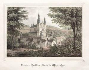 ŚWIĘTA LIPKA. Klasztor; minimalny ślad wilgoci; wym.: 182x121 mm; Kloster Heilige Linde in Ostpreuss ...