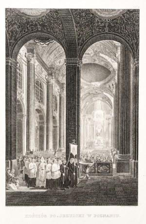POZNAŃ. Wnętrze kościoła pojezuickiego (Bazylika Matki Boskiej Nieustającej Pomocy i św. Marii Magda ...