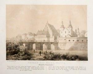 POZNAŃ. Katedra i kościół NMP na Ostrowie Tumskim; delikatne rdzawe plamki; wym.: 288x198 mm; POZNAŃ ...