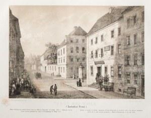 TORUŃ. Dom, w którym urodził się Kopernik; rdzawe plamki; wym.: 284x196 mm; TORUŃ NAD WISŁĄ. (Zachod ...