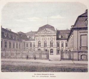 ANTONIN, BERLIN. Pałac Radziwiłłów; ryt. W. Aarland i Hertedrich (?), 1875; drzew. szt. kolor., st. ...