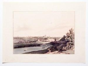SMOLEŃSK. Panorama miasta; anonim, pochodzi z: Horne, Thomas Hartwell, The Triumphs of Europe (drugi ...