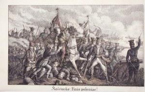 KOŚCIUSZKO, TADEUSZ, MACIEJOWICE. Scena z bitwy pod Maciejowicami (10 X 1794), kiedy Kościuszko miał ...