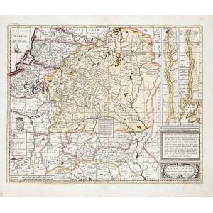 """LITWA. Mapa Litwy – pomniejszona wersja """"Radziwiłłowskiej"""" mapy Litwy Tomasza Makowskiego; wyd. Petr ..."""