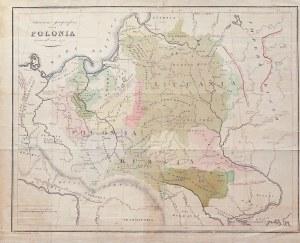 POLSKA, LITWA. Mapa Polski i Litwy przed pierwszym rozbiorze; oprac. Bernard Zaydler, pochodzi z: St ...