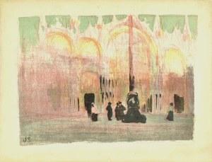 Jan Stanisławski (1860-1907), Plac św. Marka w Wenecji, 1901