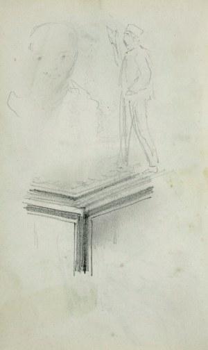 Stanisław Kaczor Batowski (1866-1945), Kobieta w długiej sukni siedząca na krześle ukazana z lewego tyłu