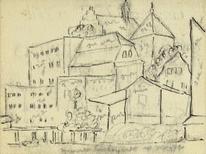 Emil Krcha (1894-1922), Pejzaż miejski
