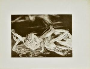 Stanisław Wyspiański (1869-1907), Hermes wiedzie duchy bohaterów do głębi Hadesu (Iljada)