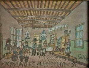 Nikifor Krynicki(1895-1968),W sklepie