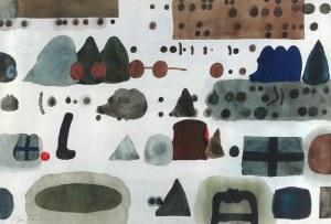 Jan TARASIN (1926-2009), Bez tytułu, 1992