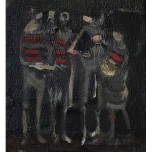 Alfred ABERDAM (1894-1963), Postaci, 1955