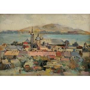 Jan ŚWIDERSKI (1913-2004), Panorama Starego Sącza