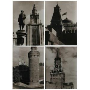 Seweryn BŁOCHOWICZ (1912-2006), Zestaw 10 fotogramów - Moskwa