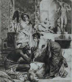 Henryk SIEMIRADZKI (1843-1902), Sprzedaż amuletów, 1875